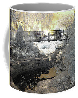 Bridge In Shades Of Infrared Coffee Mug