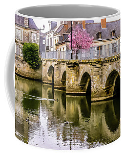 Bridge In The Loir Valley, France Coffee Mug