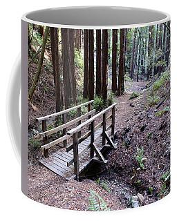 Bridge In The Redwoods Coffee Mug