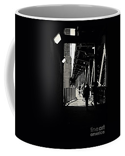 Bridge - Lower Lake Shore Drive At Navy Pier Chicago. Coffee Mug