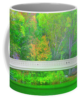 Coffee Mug featuring the photograph Bridge Of Light by Mark Andrew Thomas