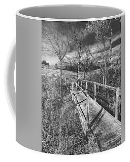 Bridge On The Prairie Coffee Mug