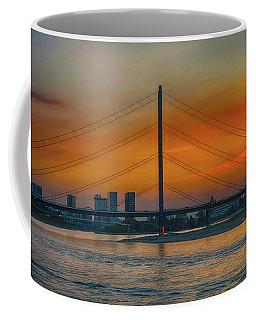 Bridge On The Rhine River Coffee Mug by Pravine Chester