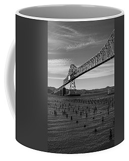 Bridge Over Columbia Coffee Mug by Jeff Kolker
