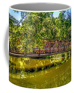 Bridge Over Delaware Canal At Colonial Park Coffee Mug