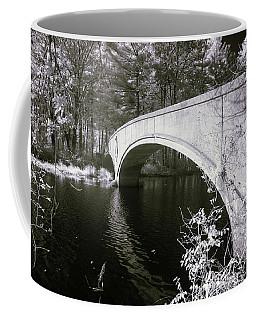 Bridge Over Infrared Waters Coffee Mug