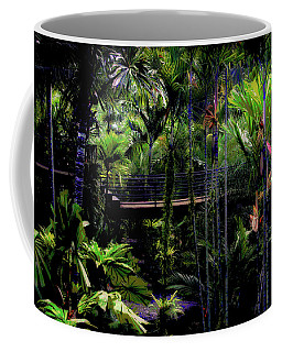 Bridge Over Nong Nooch Coffee Mug by Joseph Hollingsworth
