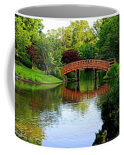 Bridge Over The Water Coffee Mug