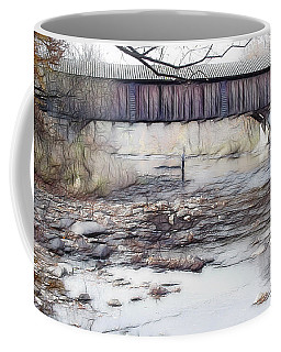 Bridge Over Troubled Waters Coffee Mug by EricaMaxine  Price