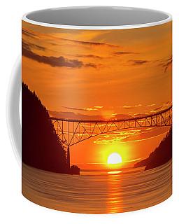 Bridge Sunset Coffee Mug