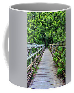 Bridge To Bamboo Forest Coffee Mug