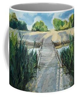 Bridge To Beach Coffee Mug