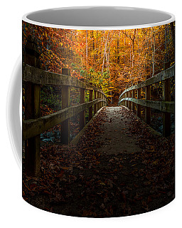 Bridge To Enlightenment Coffee Mug by Ed Clark