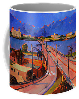Bridge To Palm Beach Coffee Mug