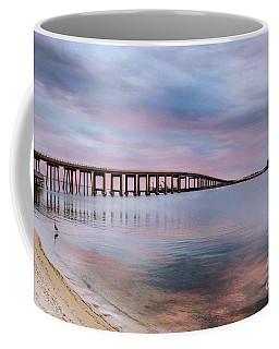 Bridge Under The Sunset Coffee Mug