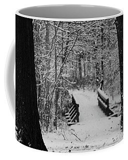 The Snowy Path Coffee Mug