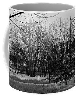 Winter At The High Level Bridge Coffee Mug