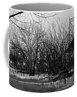 Winter At The High Level Bridge Coffee Mug
