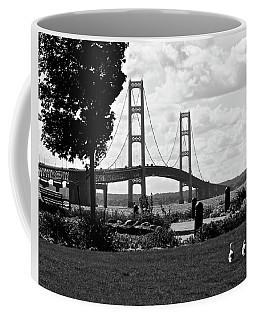 Walking To The Bridge Coffee Mug