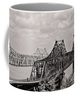 Bridges At Vicksburg Mississippi Coffee Mug