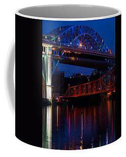 Bridges Red White And Blue Coffee Mug