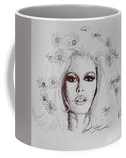 Bridget Bardot Coffee Mug