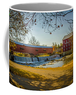 Bridgeton Mill Covered Bridge Coffee Mug