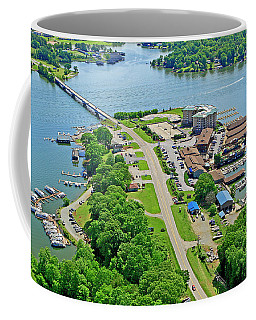 Bridgewater Plaza Aerial Coffee Mug