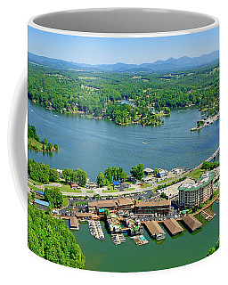 Bridgewater Plaza, Smith Mountain Lake, Virginia Coffee Mug