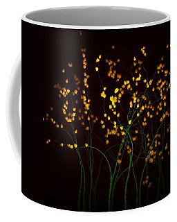 Bright Against The Night Black Sky Coffee Mug