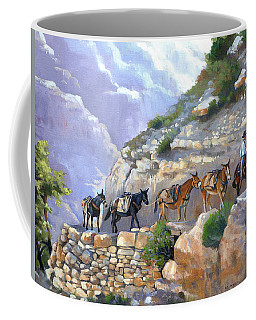 Bright Angel Mules Coffee Mug