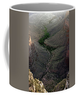 Bright Angel Trail From The South Rim, Grand  Canyon Coffee Mug