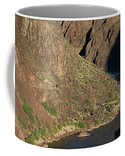 Bright Angel Trail Near The Colorado River Coffee Mug