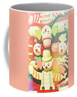 Bright Beaming Clown Show Act Coffee Mug