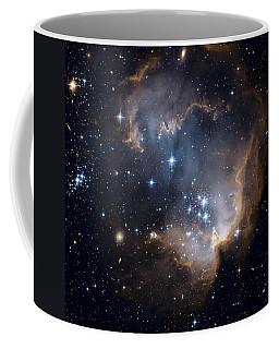 Bright Blue Newborn Stars Blast A Hole Coffee Mug