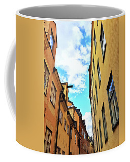 Bright Buildings In The Old Center Of Stockholm Coffee Mug