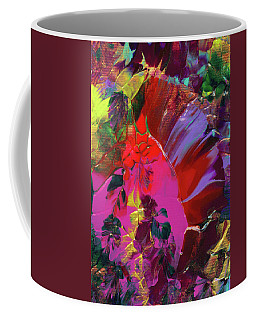 Bright Flaming Sun Flares Coffee Mug