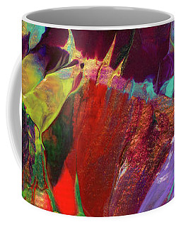 Bright Flaming Sun Flares Coffee Mug