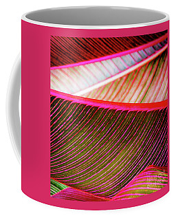 Coffee Mug featuring the photograph Bright Leaves 548 by D Davila