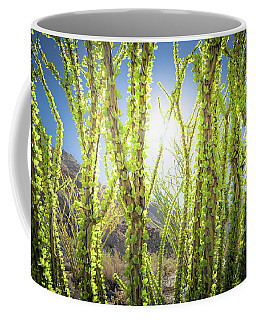 Bright Light In The Desert Coffee Mug