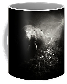 Bright Light Manatee Coffee Mug