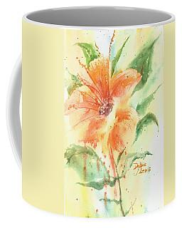 Bright Orange Flower Coffee Mug