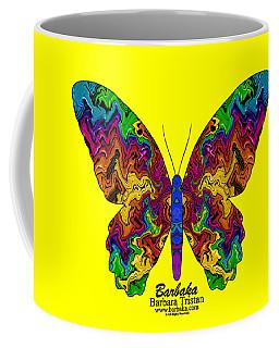 Coffee Mug featuring the digital art Bright Transformation by Barbara Tristan