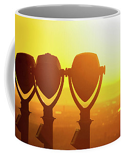 Coffee Mug featuring the photograph Bright Visions by SR Green