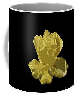 Coffee Mug featuring the photograph Bright Yellow Beauty by Laurel Powell