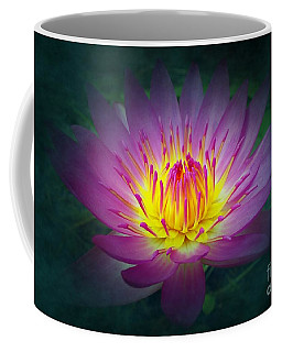 Brightly Glowing Lotus Flower Coffee Mug