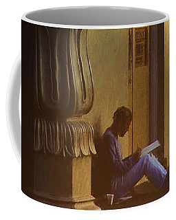 Brighton England Artist Drawing Coffee Mug