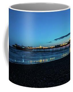Brighton Pier At Sunset Ix Coffee Mug
