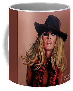 Brigitte Bardot Painting 1 Coffee Mug