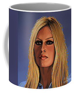 Brigitte Bardot Painting 3 Coffee Mug
